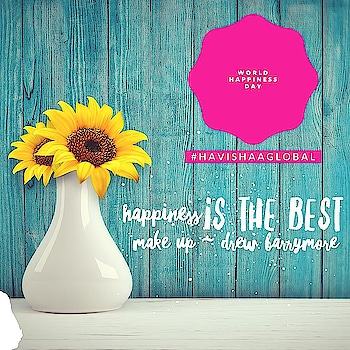 Let's smile today and share the purest Emotion, Happiness. Let's take this beyond the clock and be Happy, every single day.  Happy World Happiness Day 2019 #happy #day  #joy  #smile #wishes #happy #