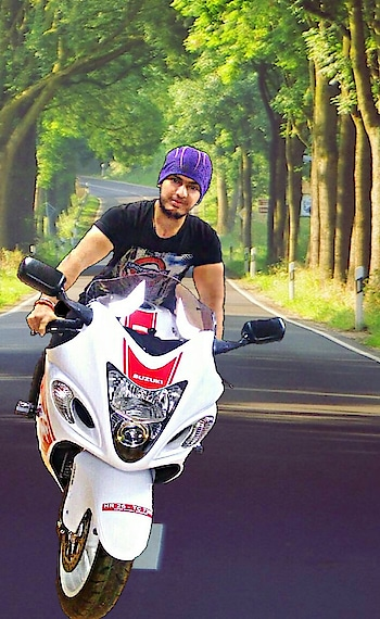 #hayabusa #rider #handsome #classymen #cooldude #studs #fitnessmodel #fitnessfreak #highway_riding #punjabi-gabru #trendingnow #now #instagood #ropo-good #ropo-love #ropo-style #wildlifephotography #dreamchaser #roposostarchannel #roposostar