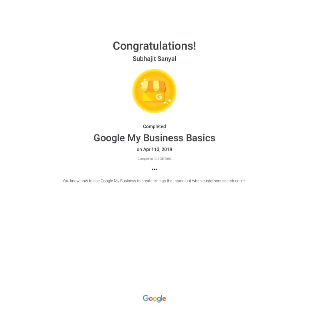 Got Award from Google #subhajitsanyalphotography #weddingphotographer  #photographs #award