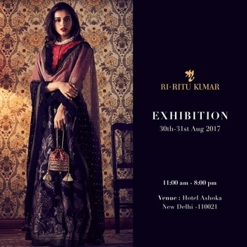 Adding to the wow factor to @Wedding wows we present to you The Ritu Kumar India most loved designer wear on board with us for THE WEDDING WOWS DELHI ON 30-31ST AUGUST at the Ashok! Watch this space for more!! #weddingwows #amilliondollaraffair #ritukumar #weddings #exhibitions #delhi #weddingfever  #amitsingla #nehaamitsingla