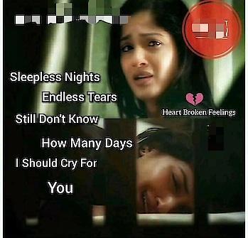 #heartbroken_shayari_