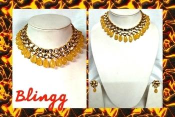 semi precious stones nd pure kundan choker neckpiece..#trending #roposo-style #style #jewelrycollection #jewellery #designer #neckpiece #choker #fashion #kundan #accessories #handmade #roposo-fashiondiaries #