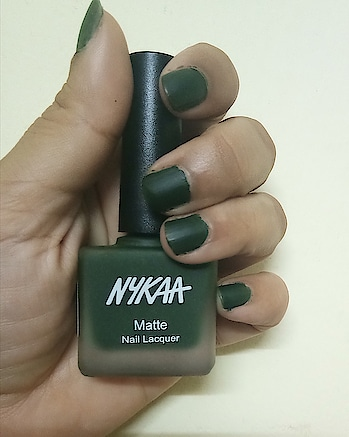 Greenis the prime color of the world, and that from which its loveliness arises. ... . . . Loving this Green Shade from @mynykaa . . 💅 Nykaa Matte Lacquer 118 Emerald Isle . . . . . . . . . @mynykaa @nykaabeauty #nykaanails #mattenails #mattenailspolish #nykaanailsmatte #mattenailpolish #nails #nailsofinstagram #greennails #mattegreennails #greennailpolish #beautyinfluencer #bangalorebeautyinfluencer    #indianreviewblog #indianbeautyblogger #indianbeautyblog #bangalorebeautyblog  #indianblogger #nailenamel #nailpolishlove   #nailsofinstagram #nails💅 #nailswag #nailfie