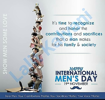 #Mens day