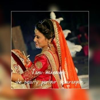 #tanumakeovers #shebeautyparlour #saharanpur #bridalmakeup #makeupartist #hdmakeup #different-is-beautiful #naturalbeauty