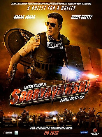 Akshay Kumar   From #RohitShetty's Police universe, get ready for the fire-packed #Sooryavanshi releasing on Eid 2020!  Rohit Shetty Karan Johar Reliance Entertainment #RohitShettyPicturez Dharma Productions #CapeOfGoodFilms  Best Wishes From Team Reveur   #Reveur #ReveurEntertainments #Rakeshhankareofficial #ReveurCelebrityManagement #ReveurCasting #Sooryavanshi #EID2020