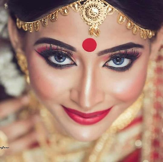 awesome  wedding  look #new-style #new #tending #bites #romantic #wedding2018 #weddingmakeup
