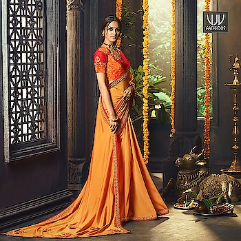 Buy Now @ http://bit.ly/Price3000RS  Beautiful Orange Color Fancy Fabric Designer Saree  Fabric- Fancy Fabric  Product No 👉 VJV-ARDH2134  @ www.vjvfashions.com  #saree #saree  #indianwear #indianwedding #fashion #fashion  #trends #cultures #indian  #instagood  #weddingwear  #designer #ethnics #clothes #glamorousselfie  #indian  #beautifulsaree  #beauty  #lehengasaree  #lehenga  #indiansaree #vjvfashions  #pretty  #celebrity #bridal #sari #style #stylish #bollywood  #sadie