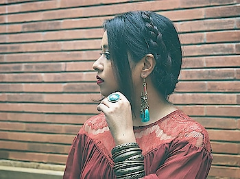 Strong like a rock, Soft as a breeze. Gentle like a mother, Vengeful as a damaged lover. Giving as an angel and also a mercenary.  Just some thoughts passing by that might shape up into a story soon. ♥️ . . . . . . . #contentcreation #tuesdaythoughts #creativebloggers #creators #bohochic #bohemianjewelry #fashionsociety #bohoinspiration #thevisualvogue #milkmaidbraid #ropo-love #ropo-good #bangalorefashionblogger #fashionbloggerindia #accessorieslover #fashionpeopleindia  #fashionobsession
