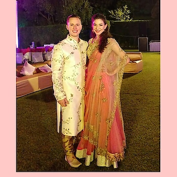 Happy clients attending Indian destination wedding 💕 Doesn't they look picture perfect in these #RAAoutfits ?  Rent your look this wedding season only at www.rentanattire.com or visit us at our stores in Pune, Delhi and Dehradun  #couplegoals #coupleshoot #mensfashion #dapper #style #groomwear #groomsmen #groomtobe #indowestern #sherwani #ethnic #indianlook #trendy #lehenga #fashion #bridalwear #bridetobe #bridesmaids #indianweddings #weddingfashion #weddings2018 #india #stylequotient #menswear #styleonrent #fashiononrent #fashionphotography