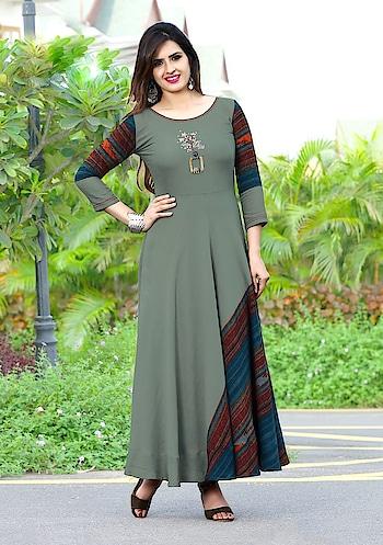 #designer #kurti #gown #anarkalisuit #anarkalidress #anarkaligown #silk #cotton #girls #women #collection #hot #tiktokindia #hotgirl #roposo