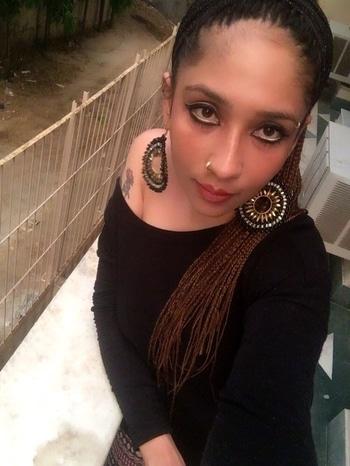 Daily Diva #eyemakeuplook #waterline  #kajal #mascaraaddict #inglot #beigeliner #statementearrings #bigearrings