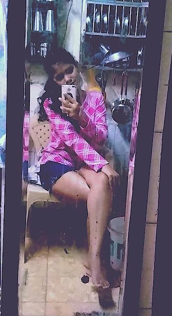 #todayslook #lovemyself #hair #shortslove #pinkloverforever
