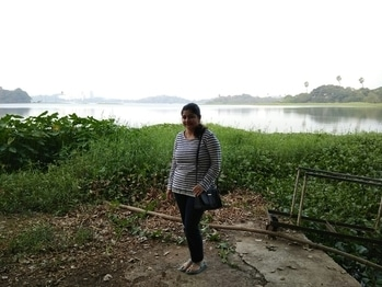 #powai #lake #iitbombay #travelling #lovetheview