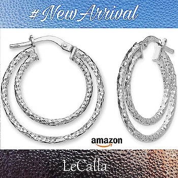 Shop from Amazon US: https://goo.gl/ndFUw5  (OR) DM for more details . . . . . . . . #LeCalla #silverjewelry #photooftheday #roposo #instapic #fashionista #unique #ootd #ootdfashion #photojewelry #trendy #usa #usafashion #elegant #fashionusa #trendyusa #usafashion #usajewellery #giftideas #hoopearrings #earrings #silver #roposo