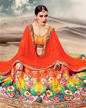 Orange Banglori Silk Lehenga Choli Product Code - FCL506 Available at www.fashionclozet.com  Watsapp - +91 9930777376 Email -  info@fashionclozet.com Or DM for enquiries.  #bridetobe #bridetips #fashionclozet #bride #bridalfashion #weddingtrends #fashion #weddingplanning #weddingreception #weddinglook #weddinglove #bridalhairstyle #bridalhairstylist #hairstylist #celebrityhairstylist #mua #bridalmua #celebritymua #brideandgroom #dulhan #dulhanfashion #nikah #anandkaraj #dreamcometrue #weddingphotography #fashionista #capedress #indianbride