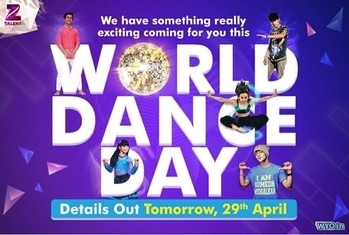 International #WorldDanceDay  #2017 just got happier for us! join us as we will make this day memorable for you.. Thank you @zeetalent_in .. #love #Dance #beautiful #world #zeetalent #follow #proneeta #proneetaswargiary #dancelikeapro #instagram #artist