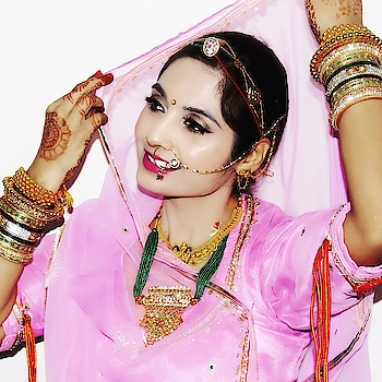 When I was a young girl I thought I would never wear Poshaks when I grow up. Strange but true and here I am! Proudly wearing one!  If you still haven't watched my latest video, the Rajputana Wedding Vlog, then please do!   Link - https://youtu.be/X3pKWUQhjI8  #baisa #baisaraj #bannaandbaisa #rajputana #rajputitude #rajputiposhak #rajputanaculture #royalrajputana #rajasthaniwedding #rajasthan #bikaner #rajputwedding #traditionallook #ethnicwear