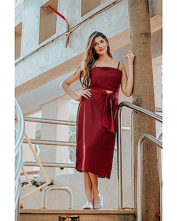 Which day of the week would you wear this? // @marieclairefashion_ind 🥀 ! ⠀⠀⠀⠀⠀⠀⠀⠀⠀⠀⠀⠀⠀⠀⠀⠀⠀⠀⠀⠀⠀⠀⠀⠀⠀⠀⠀⠀⠀⠀ ⠀⠀⠀⠀⠀⠀⠀⠀⠀⠀⠀⠀⠀⠀⠀⠀⠀⠀⠀⠀⠀⠀⠀⠀⠀⠀⠀⠀⠀⠀⠀⠀⠀ ⠀⠀⠀⠀⠀ ⠀⠀⠀⠀⠀⠀⠀⠀⠀⠀⠀⠀⠀⠀⠀⠀⠀⠀⠀⠀⠀⠀⠀⠀⠀⠀⠀⠀⠀⠀⠀⠀⠀ ⠀⠀⠀⠀⠀⠀⠀⠀⠀⠀⠀⠀⠀⠀⠀⠀⠀⠀⠀⠀⠀⠀⠀⠀⠀⠀⠀⠀⠀⠀⠀⠀⠀⠀ ⠀⠀⠀⠀⠀ ⠀⠀⠀⠀⠀⠀⠀⠀⠀⠀⠀⠀⠀⠀⠀⠀⠀⠀⠀⠀⠀⠀⠀⠀⠀⠀⠀ Love this burgundy sheath dress! Grab yours from @myntra !  @krishnakalalphotography  #marieclairefashion_ind #dress #burgundydress #style #fashion #glam #cutout #minidress #datedress #makeup #fashionbrand #onlineshopping #girls #indiangirls #girlswholoveshopping #fashionphotographers #filmdirectors #filmproducers #media #entertainment #mahhimakottary