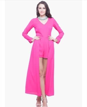 Pink dress ₹960 only , #western-dress #dressesonline #front-cut-dress #dress-forever21 #pinkdress #onlinedresses #onlineshop #fashionstoreonline  #westerndresses