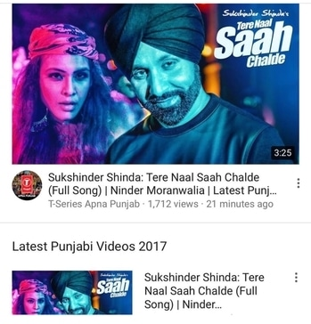 """Wait is Finally Over 💃💃 My New Song """"TERE NAAL SAAH CHAlDE""""  Full Video is out now ... 💃💃and here's is link 👇👇👇 : : https://youtu.be/1lVCMElkADo  Neha Malik 