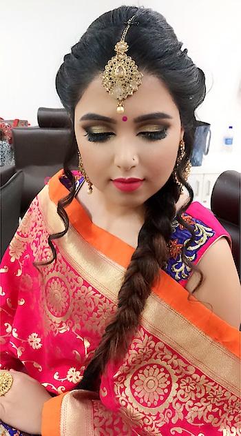 #makeuplove #makeupartistindia #makeupartistsworldwide #punjabibride #studiofixfoundation #studiofixpodwer #maclove #falselashes #makeuptutorial