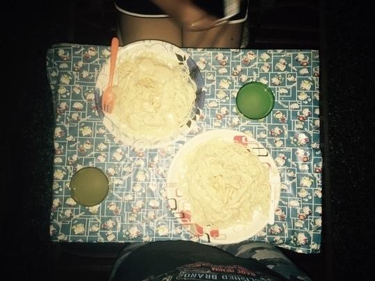 #ChefMe #dinner #dinnerdate #food #italian #chicken #pasta #whitesauce #foodie #eat2live #live2eat #instafoodie
