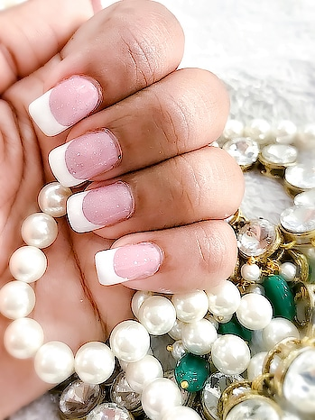 Any woman can wear a great outfit, But it is her nails that make the  STATEMENT 💅 . . . . . . . . . . . . . . . . . . #potd #nailsofinstagram #nailporn #nails #frenchnails #frenchmanicure #nailsaddict #besttime #styledotme #roposo #styleinfluencer #classic #styleinspo #blogger #fashionblogger #indianfashionblogger #indianinfluencer #nails2inspire #inspiration #slayer #wedmegood #weddingsutra #instastyle #instagood #nalisalon #thecoruscotimes