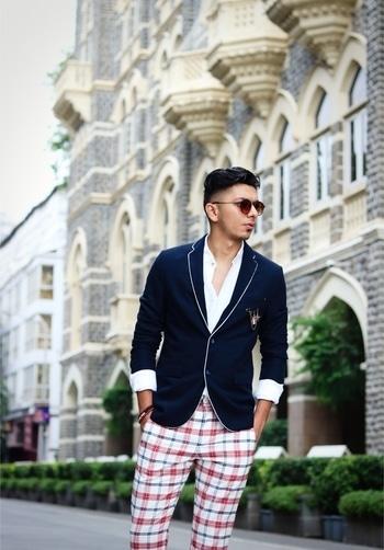 #suitup #casualstyle #checkeredprints #chekeredpants #fashion #fashionblogger #fashionbloggerindia #mensstyle #menstyleguide #menswear #menswearfashion #mensfashiondaily #braceletsformen #braceletes #suit up  #blazer #white #brogues #brownboots