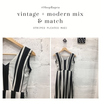 Our striped pleated maxi dress can get you that perfect look for your summer parties! #NewPost #NewLook #NewArrivals #NewIn #NewCollection #LookBook #LookOfTheDay #SummerSpring #SummerEssential #Spring #ShopNow #ShopIndia #ShopOnline #ShopWithUs #OnlineShopping #Striped #Black&White #Fashion #FashionDiaries #Surat #Summer17 #Ss17 #Hyderabad #Jaipur #Udaipur #ShopRapra