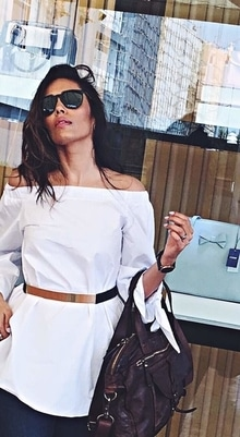 The only time of the year when you can unapologetically flaunt whites every single day - Summer love ❤️ - - #ootd #summer #summerlove #sunkissed #white #coldshoulder #trend #ss17 #lifestyleblogger #fashionblogger