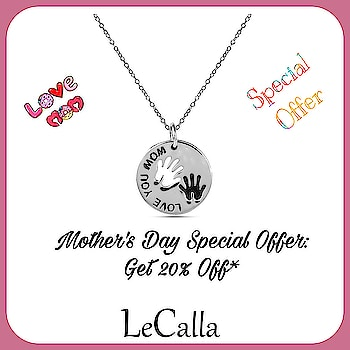 Mother's Day Special Offer:  #ShopNow and get 20% Off on every purchase above Rs 1000/- Use Code: MOTHER20  #LeCalla #mothersday #silverjewellery #offer #lovemom #pendant #roposolove #instalove #instajewellery #instagood #roposo #musthave #womensfashion #motherkids #fashionista #fashionjewelry #girlsfashion #silverpendant #neckaccessories #buynow #getoffers