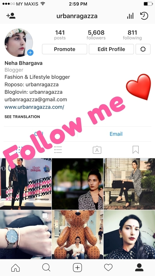 Follow me at www.instagram.com/urbanragazza 🙏🏻😘