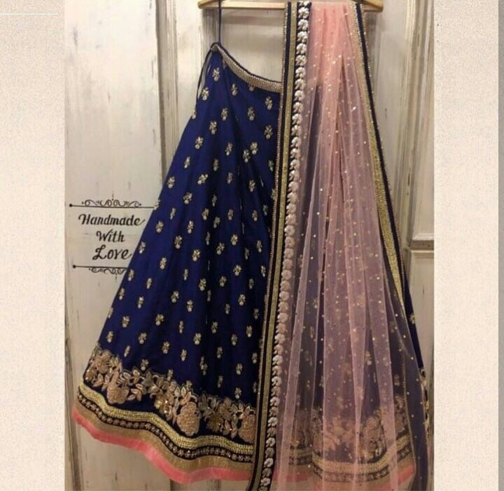 #restocked get this designer #lehengacholi Just for ₹@1750/- INR Only For buy DM or WhatsApp us : +91-8866570406