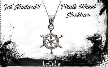 Sterling silver Pirate Wheel Necklace, DM for more details.   #LeCalla #piratewheel #pendant #ordernow #silverjewellery #ordernow #exclusive #attitude #instagood #roposotalks #roposolove #silver #silvergift #pendants #photooftheday #intrend #trendyjewelry #womensfashion #newstyle #neckaccesory #style #piratewheel
