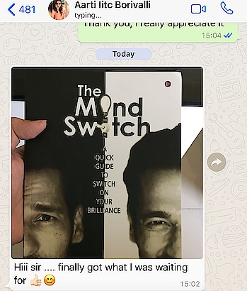 #themindswitch , have you got your copy? The promo discount valid on Amazon only till 21st of March after which it goes back to the original price. #booklover #author #umeshpherwani  #lifecoach #mindexpert #nlptrainer #subconsciousmind #power #frequency #vibrations order you copy now click on the link  The Mind Switch : A Quick Guide to Unleash Your Brilliance https://www.amazon.in/dp/1642493953/ref=cm_sw_r_cp_api_i_1xJRAb5551R0Q