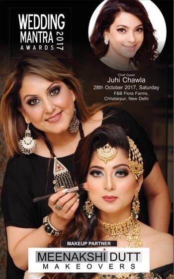 #makeup #partners #awards #meenakshiduttmakeoversdelhi #muadelhi #bestmakeupartistindelhi