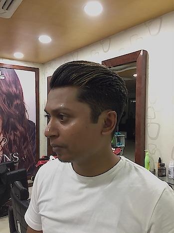 #hairstyle #undercut #fauxquiff #blondie