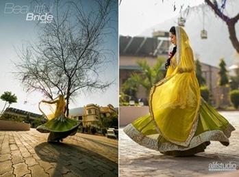#wedding-outfits #bridesofindia #mehndidresses #happy-enjoying #roposogal #bold-is-beautiful