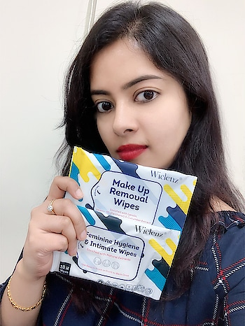 "Hey girls! Now, you can maintain hygiene & sanitation wherever you go with @wiclenz ""Feminine & Hygiene Intimate Wipes"".   Even removing make-up is too easy with @wiclenz ""Makeup Removal Wipes"", just as you are wiping your face normally. It's Dermatologically tested & 100% safe. Suitable for all skin types.   Say Yes to @Wiclenz Wipes! ❤️ #wipes #wet wipes #makeup wipes #wiclenz #hygieneproduct #intimatewash #skincareblogger #skincareroutine #skincaretips #skincareproducts #skincareregime #skincareessentials #ropo-beauty #ropo-makeup #no-makeup #skintreatments #roposo-beauty #makeup hacks #roposo #travel #travel-diaries #travel kits  #youtuber"
