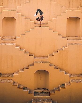 """#Yoga adds years to your #life & life to your years"" ~ Alan Finger. PC: spiritualgangster.com #internationalyogaday #instayoga #instafitness #health #life #love #incredibleindia #shiva #workout #yogapose #power #internationalyogaday2018 #asana #stepwells #ancient #Gujarat #quote #quoteoftheday #wisdom"
