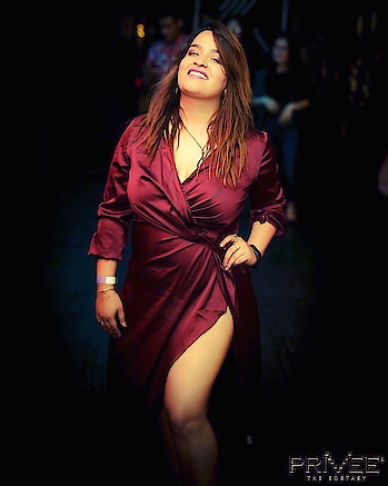 #burgundydress #sheinofficial #slitdress #satin ❤️