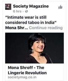 #societymagazine #writeup  #monashroffjewellery #monashroff #indiaintimatefashionweek2017