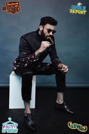 @roposotalks @roposocontests @beardo @roposobusiness #roposo #stylereport #beardsquad #mensstyle #outfitoftheday