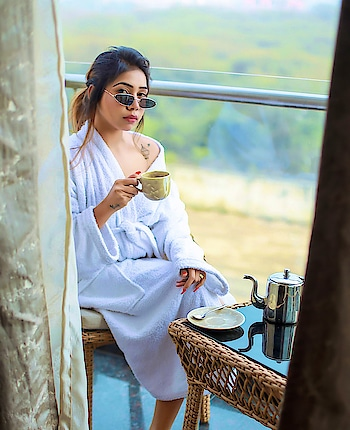 Having Espresso ☕️ In Fresh Air ❤️ #FreshMorning .