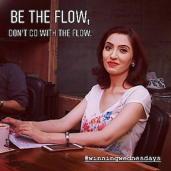 Be the flow , don't go with the flow 😊! #tinawaliaic #tipsbytina #imagecoach #softskillstrainer #thoughtfortheday #sundayvibes #etiquetteexpert #positivevibes #workhard #playharder #loveyourwork #quotestoliveby #ropo-post #ropo-daily #roposolook #roposo-vibes😊