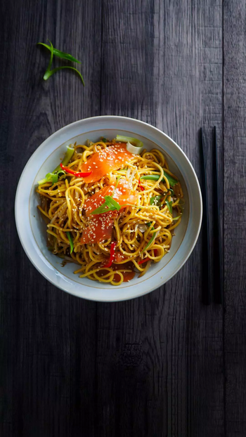 #noodles #withatwist #spicyfood #tangy