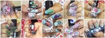 Nail art compilation #nailswag #nailartdesigns #nailartaddicts #indianbeautyblogger #indianyoutuber #indianreviewblogger #youtubeindia #youtubecreatorindia #youtubetutorial #nailartforbeginners