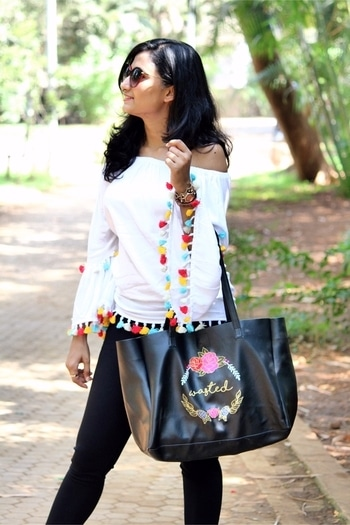 Style is something which is infused within me. #fashionfables #styleblogger #fashionislife #fashionblogger #styling #thestyleinfusion