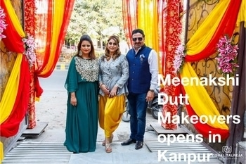 #meenakshiduttmakeoversdelhi #opened #kanpur #meenakshiduttstyle #bridalmakeup #welcome #new-style #dovisit #salon #makeupstudio #Contact Meenakshi Dutt Makeovers Kanpur call at 9793963641,9889696666.
